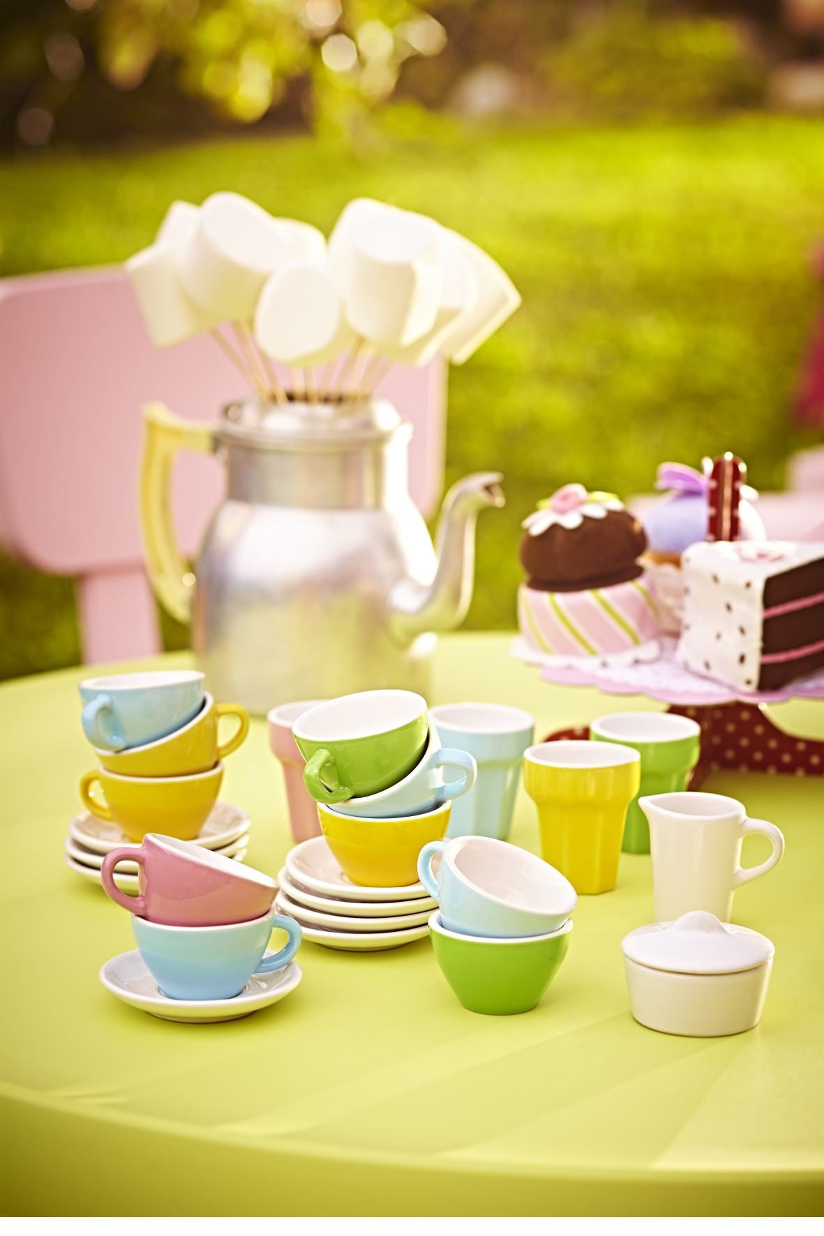 fete enfant fille tea party